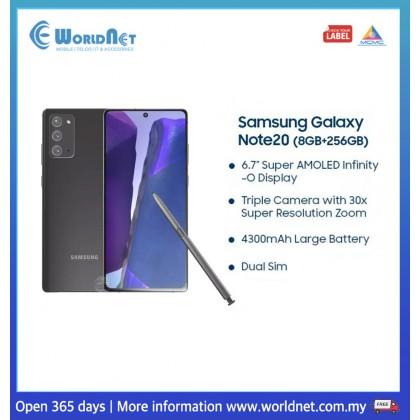 Samsung Galaxy Note 20 5G 6.7'' 8GB RAM + 256GB ROM 4300 mAh