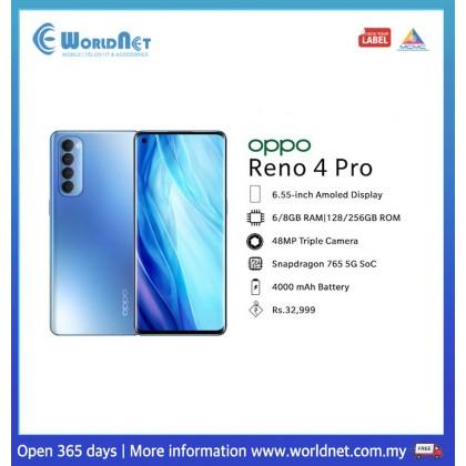 Oppo Reno 4 Pro 6.5''  8GB RAM + 256GB ROM 4000 mAh