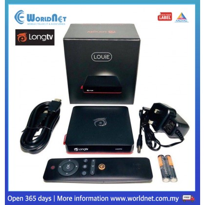 LONG TV BOX ANDROID 7 OS 2.0GHz @ 25000DMIPS 1GB DDR3 400g
