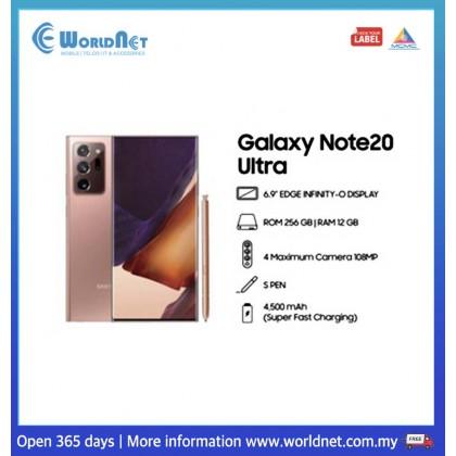 """Samsung Galaxy Note 20 Ultra 5G 6.9"""" 12GB RAM + 256GB ROM 4500 mAh"""