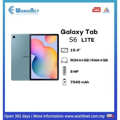 "Samsung Galaxy Tab S6 Lite Wifi 10.4"" 4GB RAM + 64GB ROM 7040mAh"