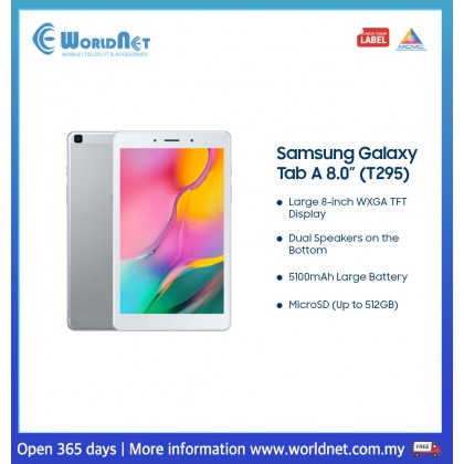 "Samsung Galaxy Tab A 8.0 2019 8.0"" 2GB RAM + 32GB ROM 5100mAh"
