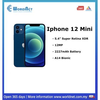 """Iphone 12 Mini 5.4"""" 64GB ROM + 4GB RAM 2227mAh"""