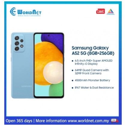 "Samsung Galaxy A52 5G A526 6.5"""