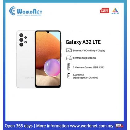 "Samsung Galaxy A32 LTE A325 6.4"" 8GB RAM + 128GB ROM 5000mAh"